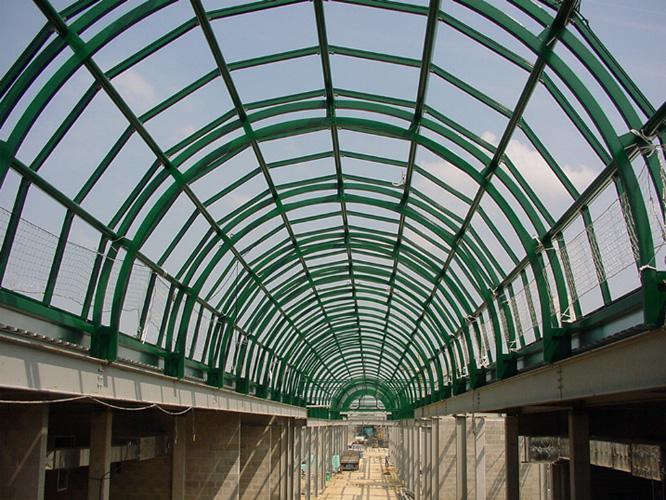 Construction m tallique union des m talliers for Structure metallique architecture